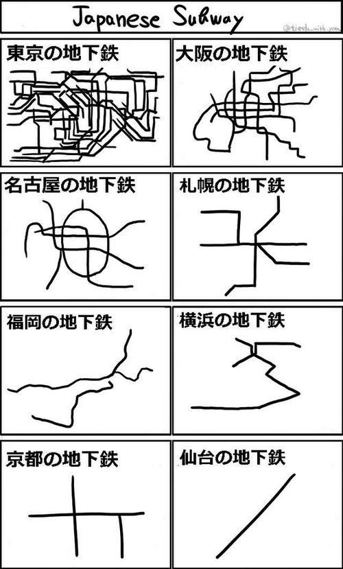 Twitter subway japan 2