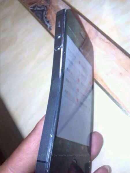 Iphone 5s plie tordu 03
