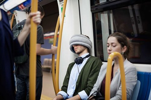 Ostrich pillow light 2