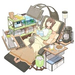 「私の理想の椅子」が完全に引きこもり専用の椅子になっている