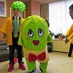 ふなっしーの生き別れた妹「きゃべっしー」が千葉県銚子のキャラクターになったと話題