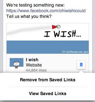 Facebook Save Link 2