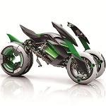 近未来!カワサキの電動3輪車が超かっこいいと話題
