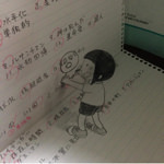 これ凄い!「ノートが落書きだらけなのは全部この子のせい。」と投稿された画像が話題