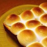 話題のマシュマロトーストを作ったらダークマターになってしまったと話題