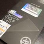 Nexus 5にもガラスフィルム!硬度9Hのラウンドエッジ加工がされた0.23mmの薄型ガラスフィルム「Glas.t R NANO SLIM」