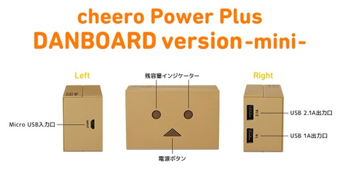 Powerplus danboard mini 3
