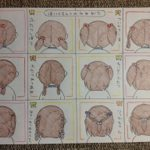 癒やされた!髪の毛への注文が多い娘さんのために作った手描きのリクエスト表がカワイイ!