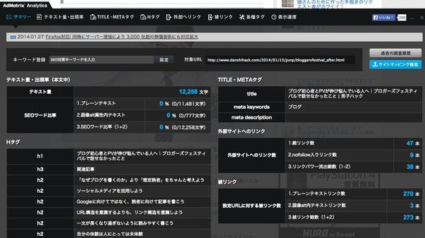 Chromeextention adMatrix analytics 2
