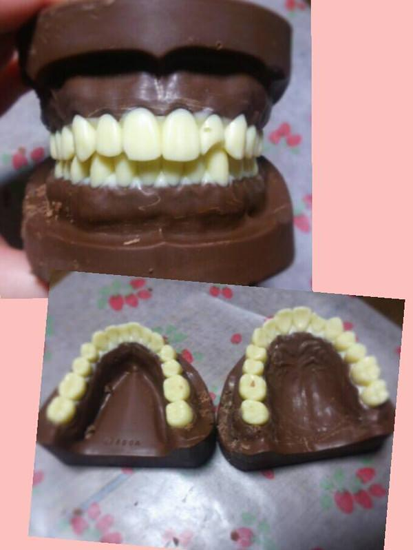 Twitter tooth chocolate 1