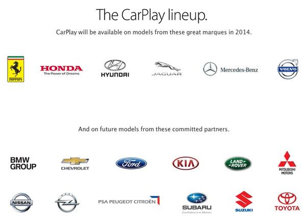 Apple carplay 8