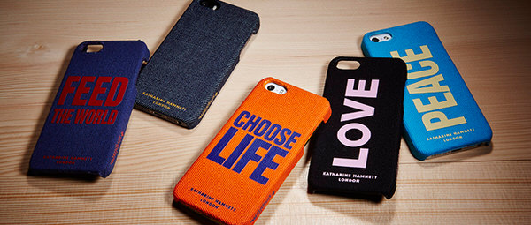 Iphone accessory katharine hamnett londin simplism 13