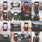 これは真似したい!iPhoneで風景を切り取ったところをカメラで撮影した写真