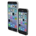 Mac Fan5月号に掲載されたiPhone 6の図面から作成された3D画像