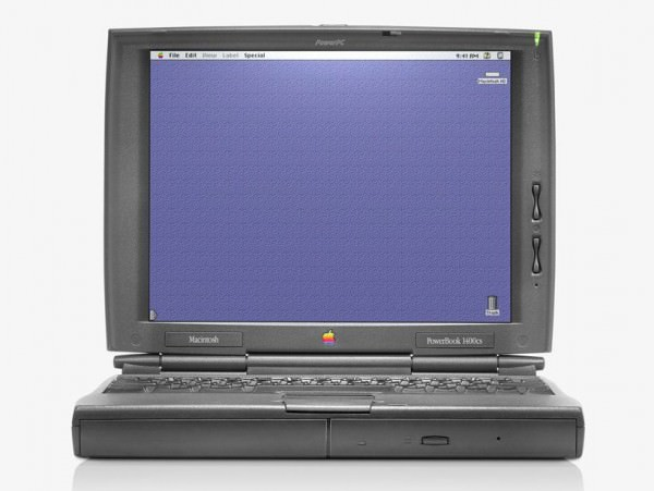 13 PowerBook 1400 1996 600x451