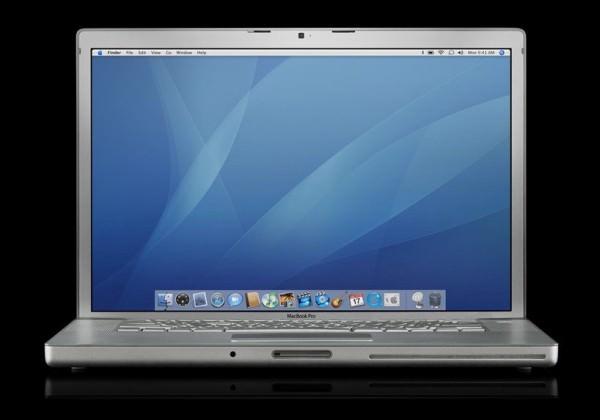23 MacBook Pro 2006 600x420