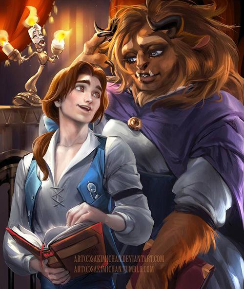 Genderbent fan art 09