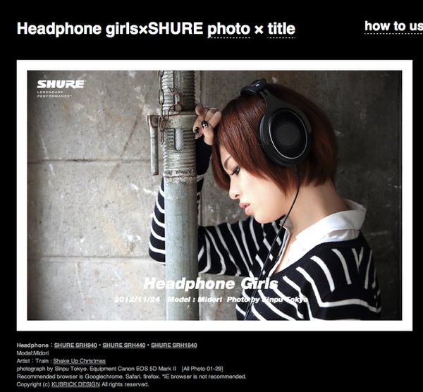 Headphone girls 2 1