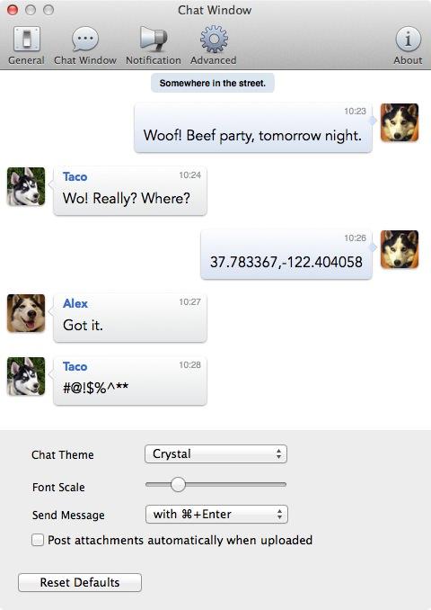 Macapp facebook messenger 3