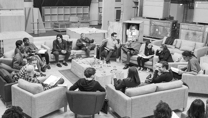 Star wars episode 7 cast announce
