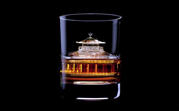 Suntory 3d on the rock 1