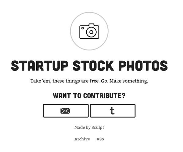 Webservice startupstockphotos