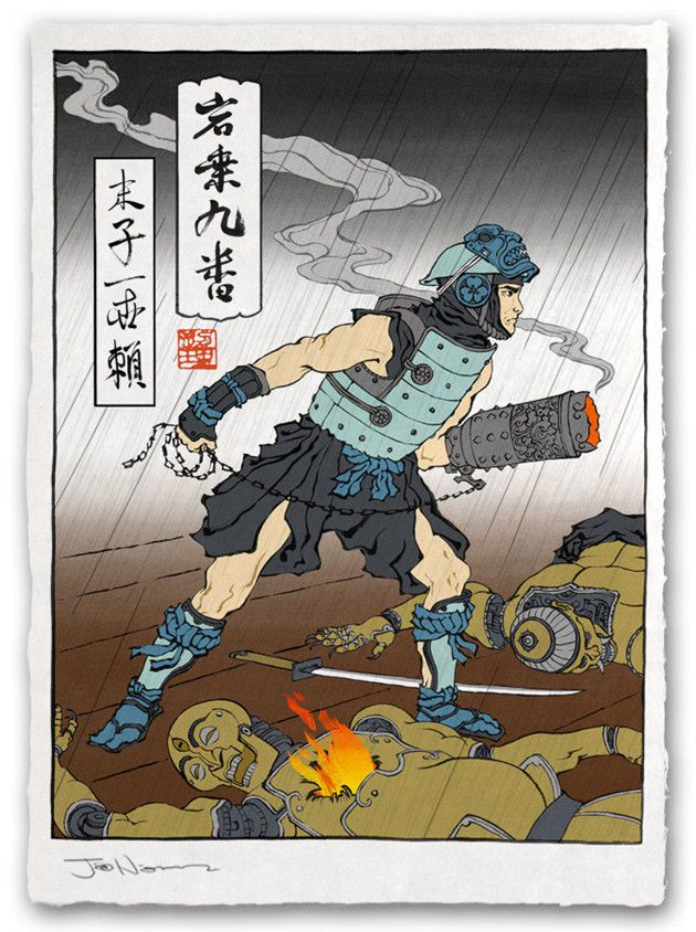 浮世絵 ロックマン 2