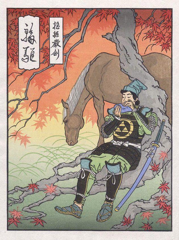 浮世絵 ゼルダの伝説 2