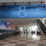 iOS 8の発表が確定!WWDC2014の会場に「8」と書かれたバナーが登場!