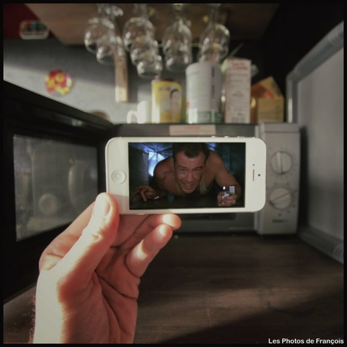 Movie Pics on Real life backgrounds by Francois Dourlen 2014 10