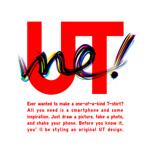 ユニクロでオリジナルTシャツを作ることができるアプリ「UTme!」が公開!Tシャツ1枚1990円!
