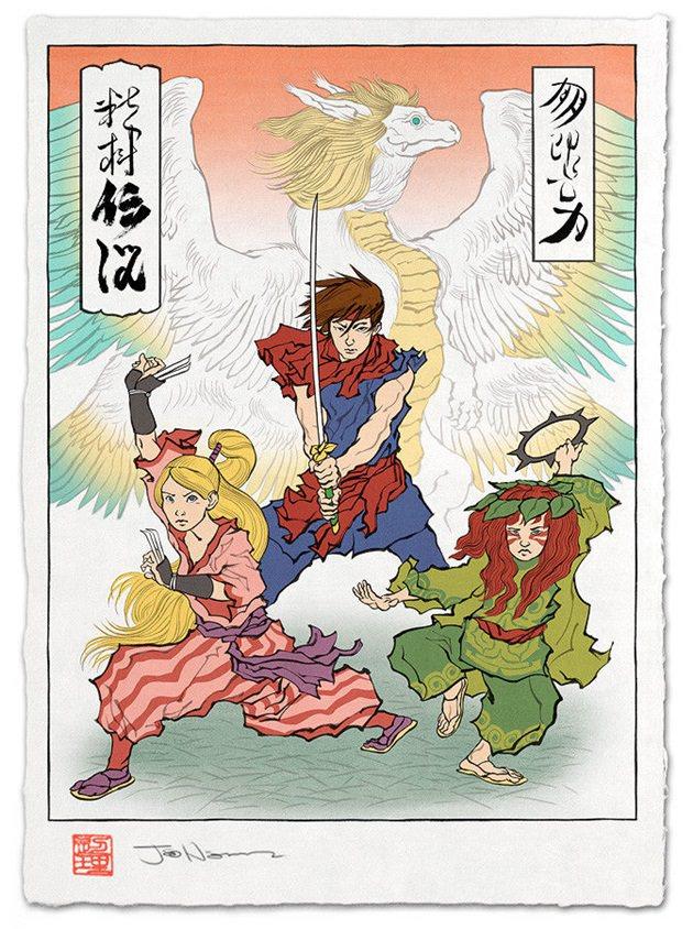 浮世絵 聖剣伝説2