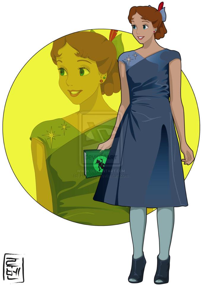 Disney real Peterpan Wendy