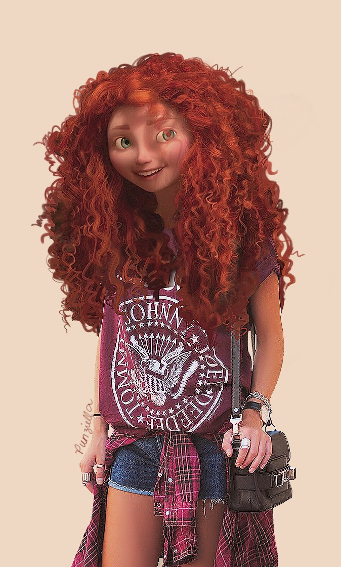 Disney real merida 1