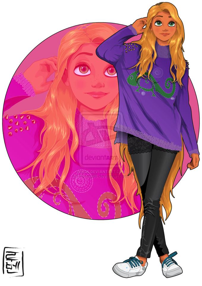 Disney real rapunzel 1
