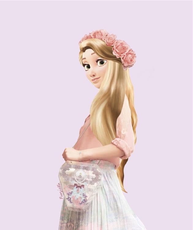 Disney real rapunzel 2