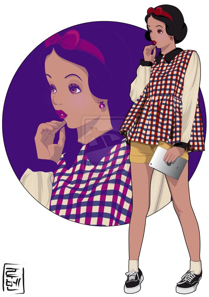 Disney real snow white