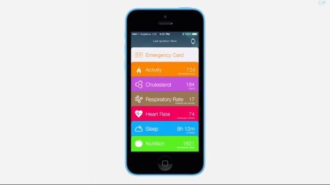 Ios8 healthbook rumour 1
