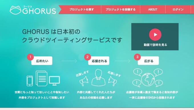 Webservice ghorus 1