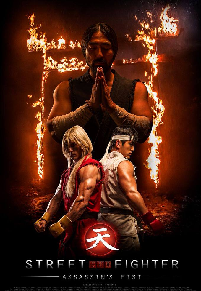 Youtube street fighter assasins first trailer