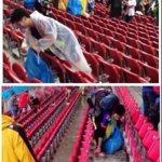日本人サポーターがW杯で「ゴミ拾い」する姿に世界中から賞賛の声!