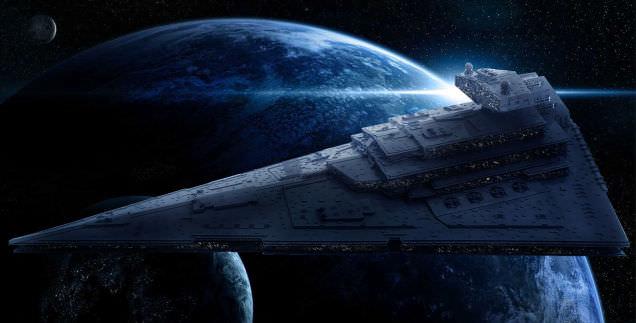 Lego Imperial Star Destroyer 1