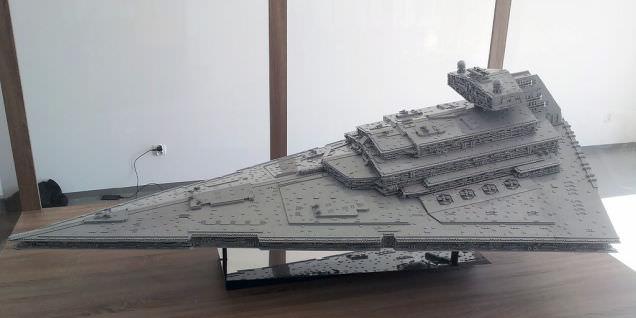 Lego Imperial Star Destroyer 10
