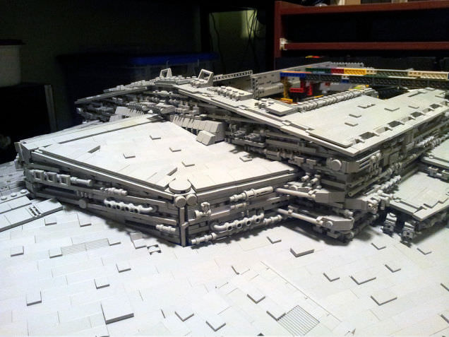 Lego Imperial Star Destroyer 12