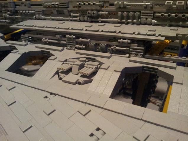 Lego Imperial Star Destroyer 14