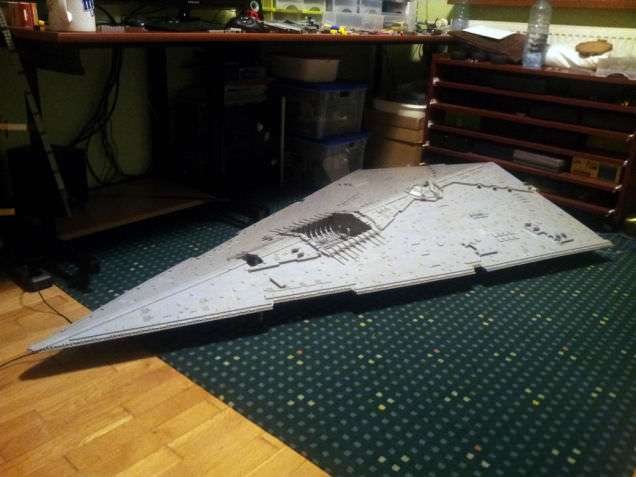 Lego Imperial Star Destroyer 16