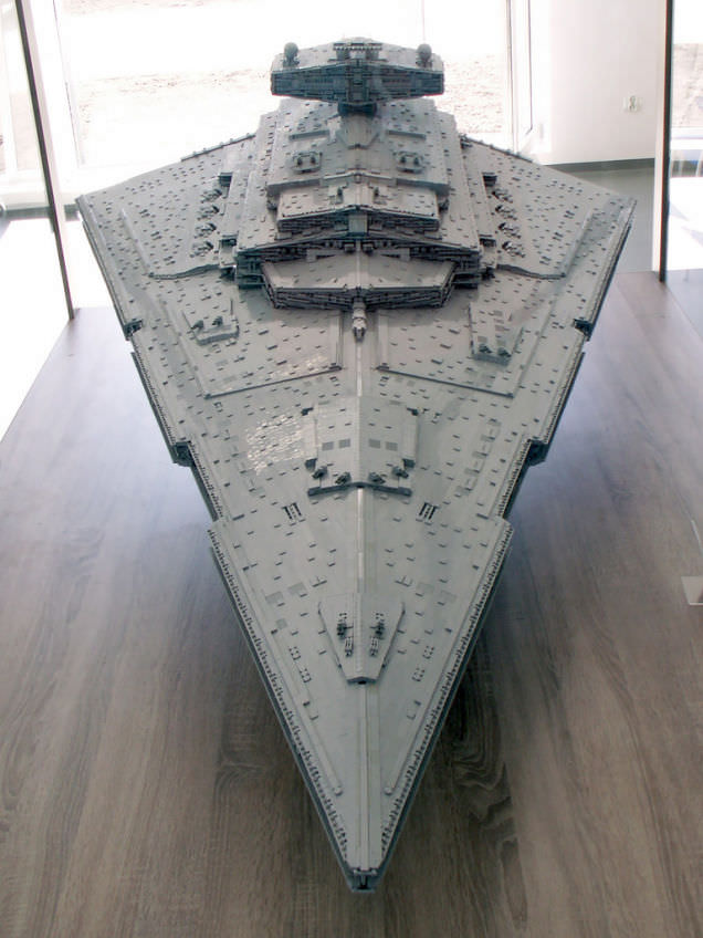 Lego Imperial Star Destroyer 6