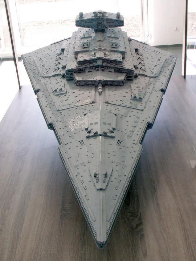 Lego Imperial Star Destroyer 6
