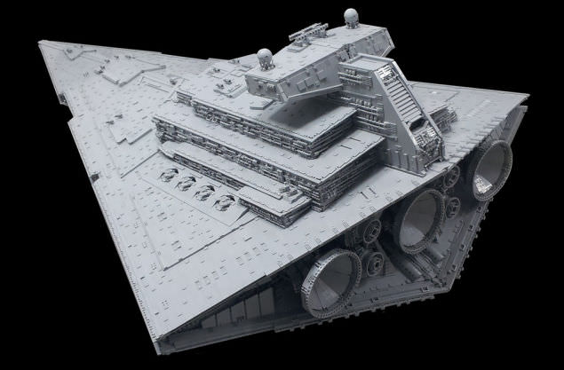 Lego Imperial Star Destroyer 9