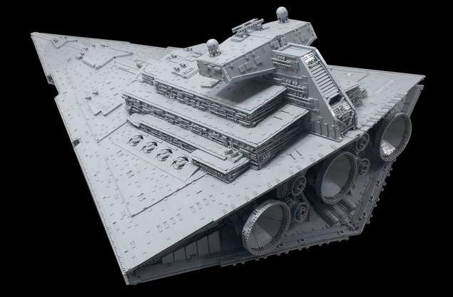 Lego Imperial Star Destroyer 9